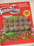 Slow Release Fertilizer Tablets - For All Hanging Baskets. Flower Bags and Patio Containers