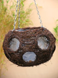 Designer Pair Offer Natural Brushwood Ball Hanging Baskets