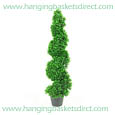 Artificial Spiral Boxwood Topiary Corkscrew Tree / Plant 80cm Tall